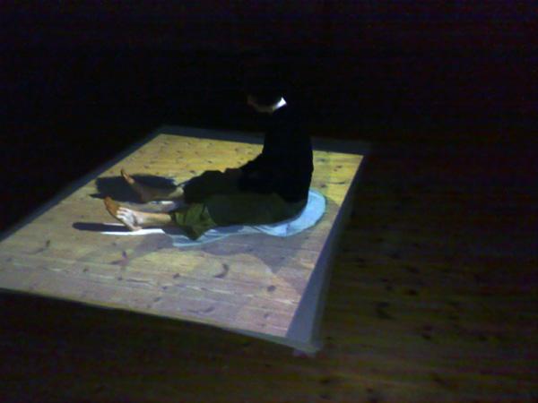 Esbos - Videoprojectie-performance Emma